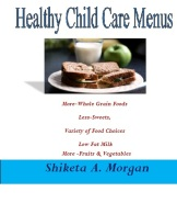 Healthy Child Care Menu Book Cover