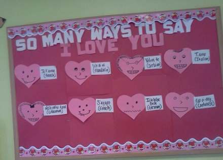 Many ways to say I love you