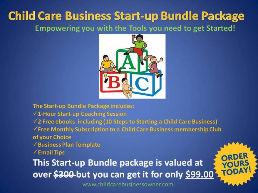 how to get into childcare business